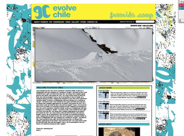 Evolve Chile Site