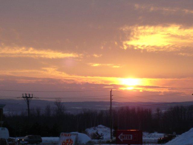 Collingwood,sunset