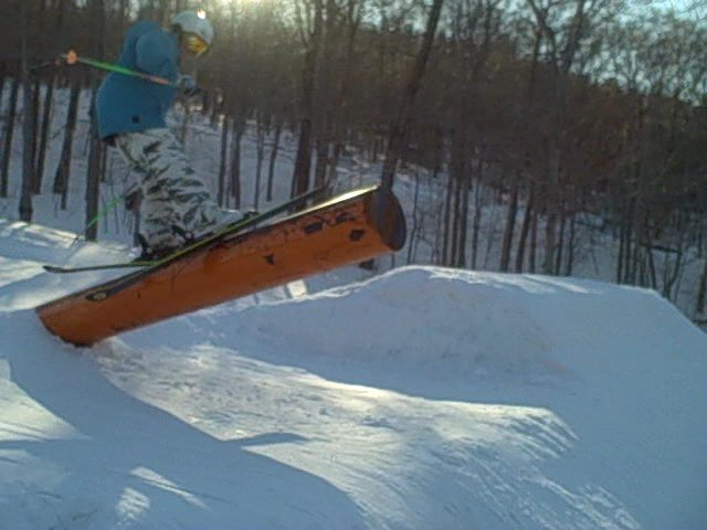Me doing the cannon rail at loon