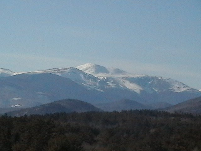 Mt. washington from cranmore