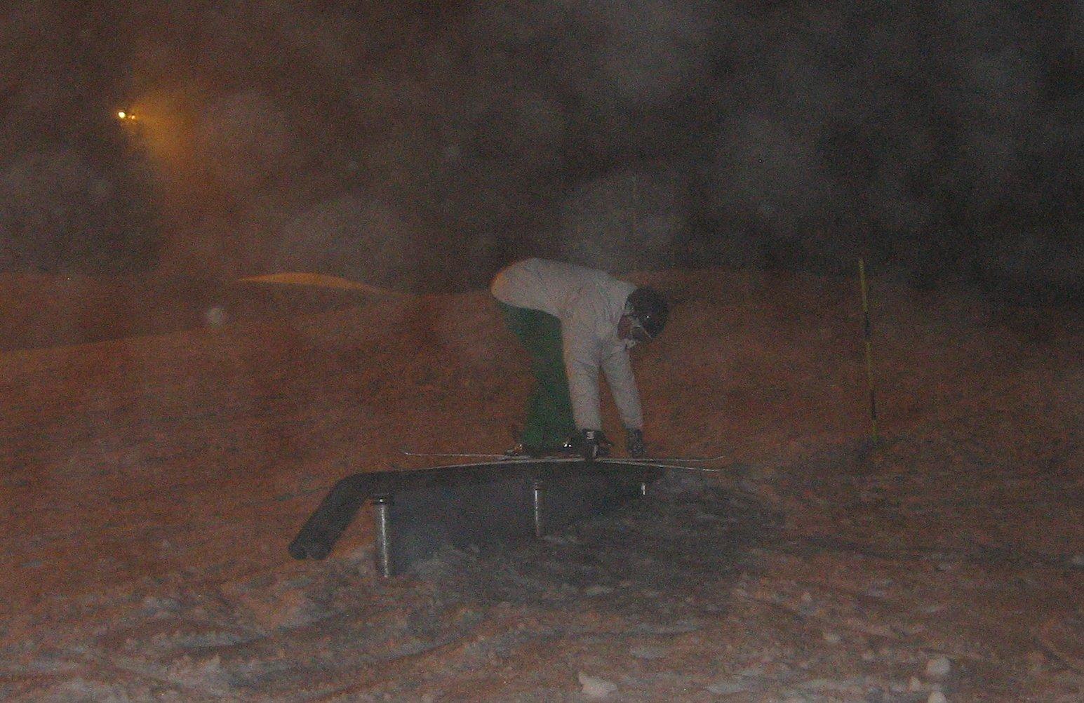 Truckdriverslide at Vallaasen, January 09