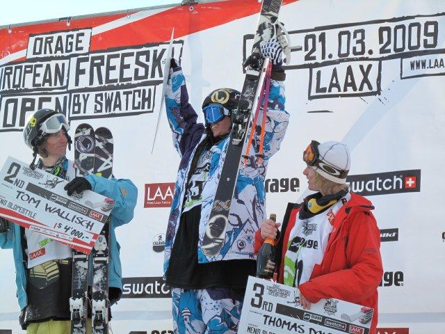 Henrik takes gold in Euro Open Slopestyle