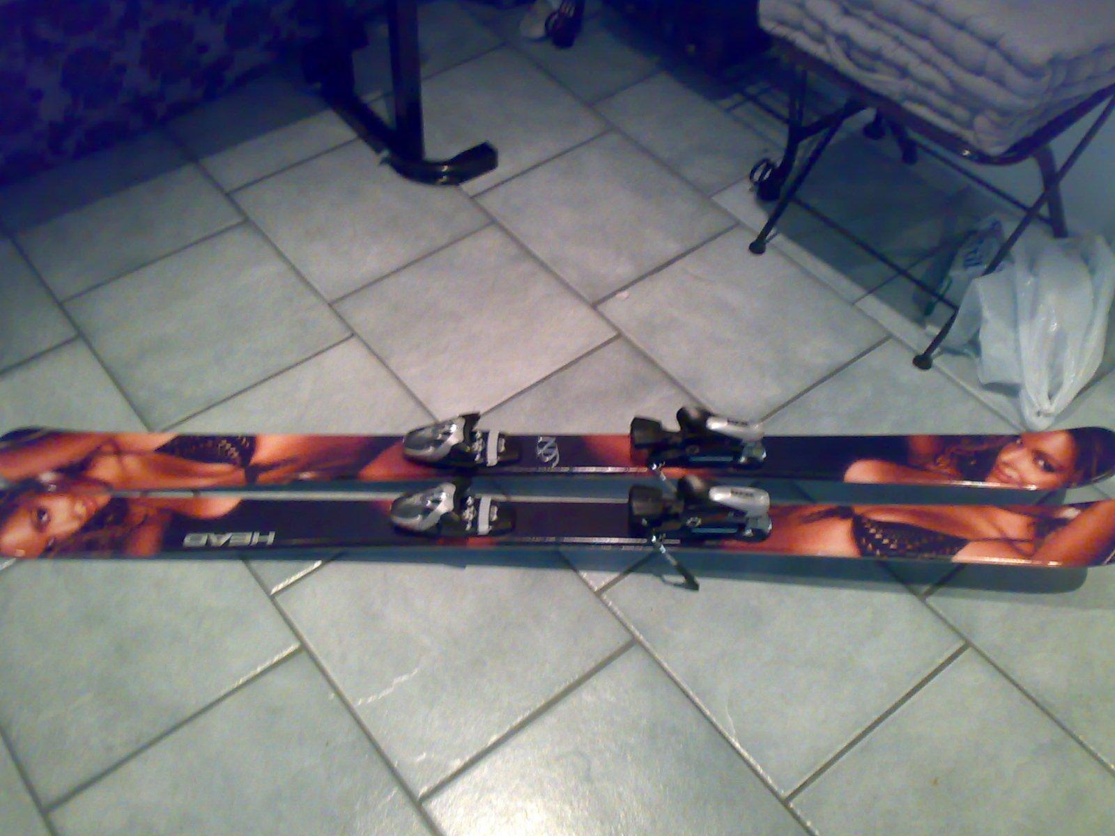 My cool Head Mojo 11 skis!
