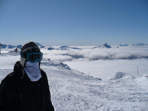 Me at whistler peak