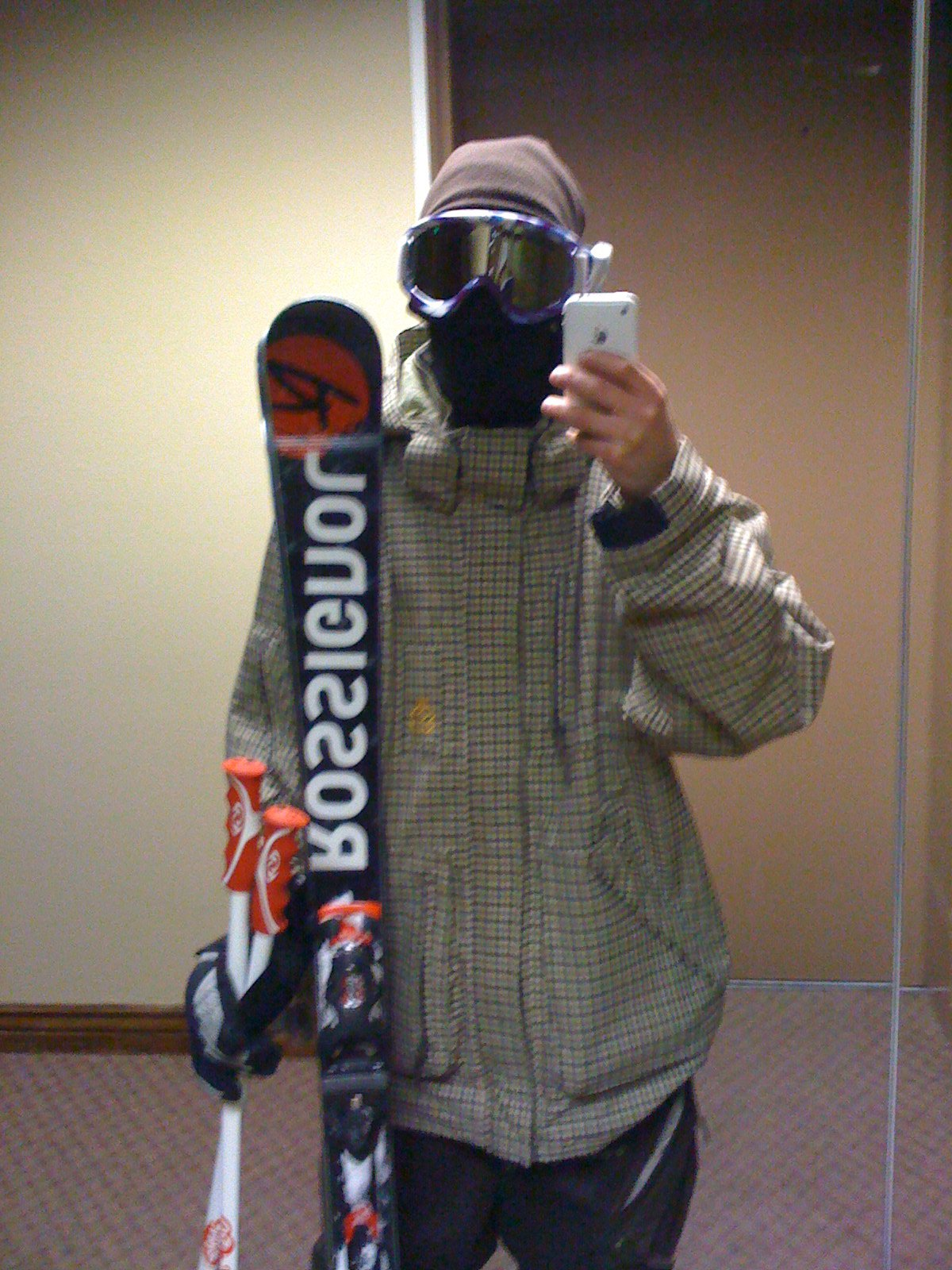 Me and my Rossignol's Classic 70's