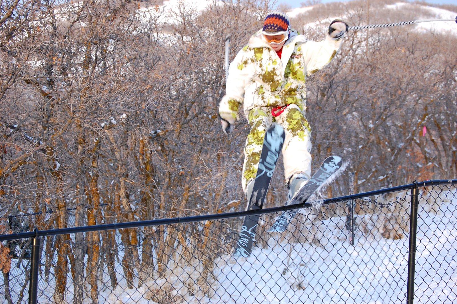 Fence Jibbin