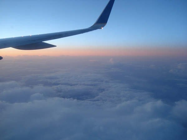 Sunrise over scotland