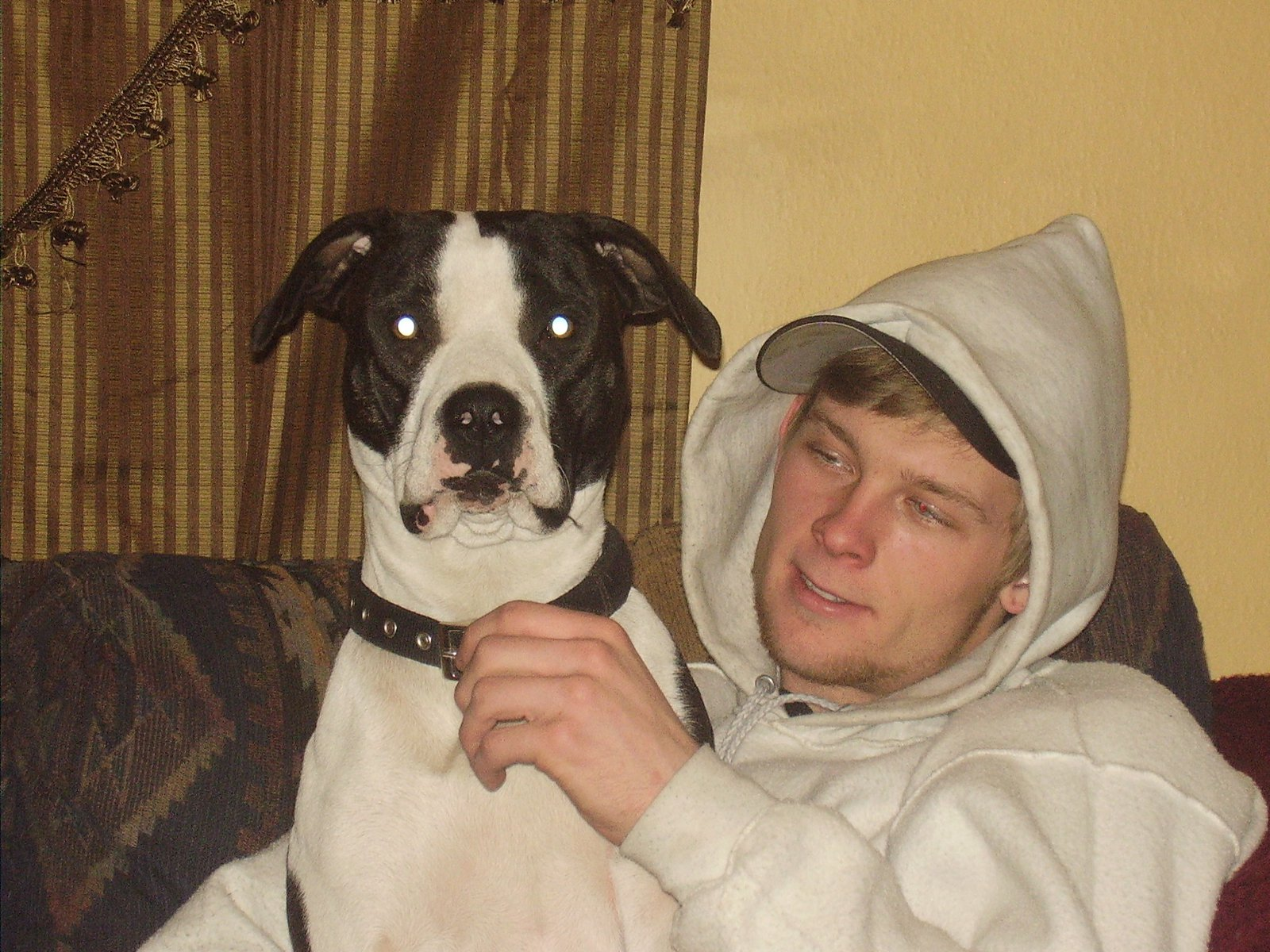 My buddie and my dog