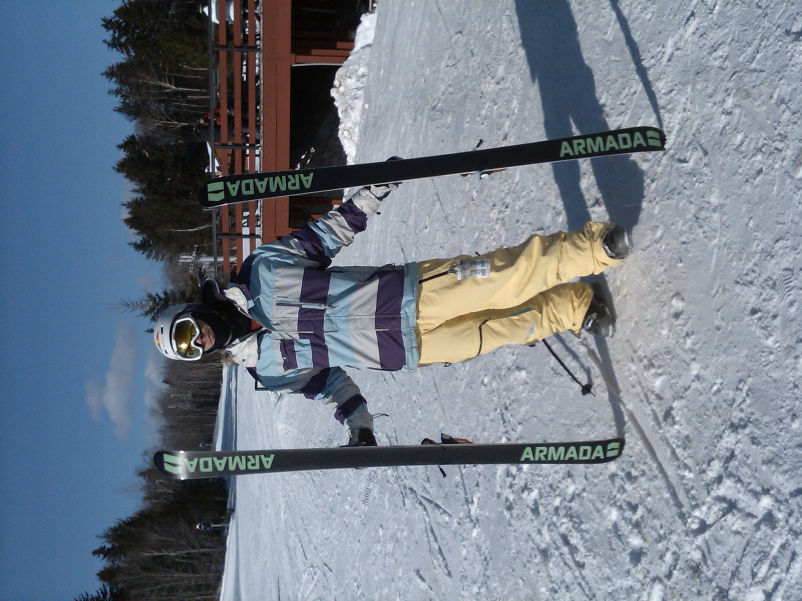At mt. snow, cheesin pretty gay-like. Special Blend , Saga