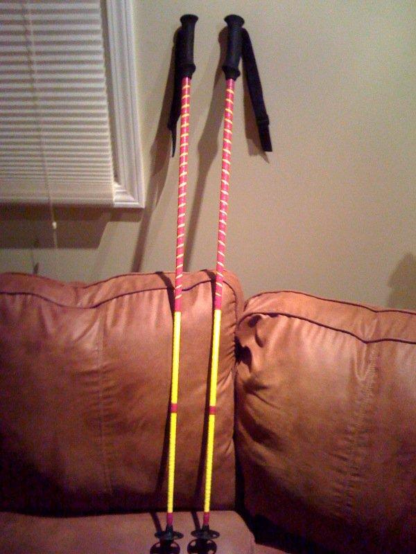 My ski poles?