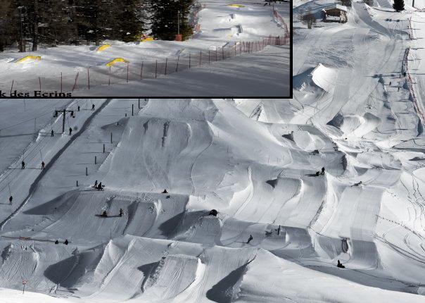 Vars snowparks