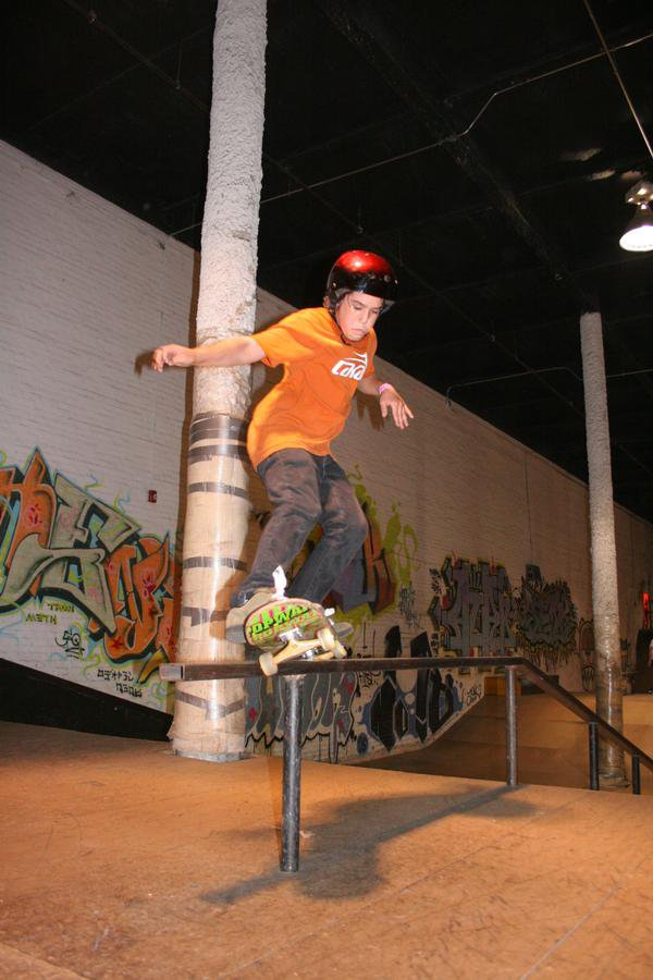 Front feeble