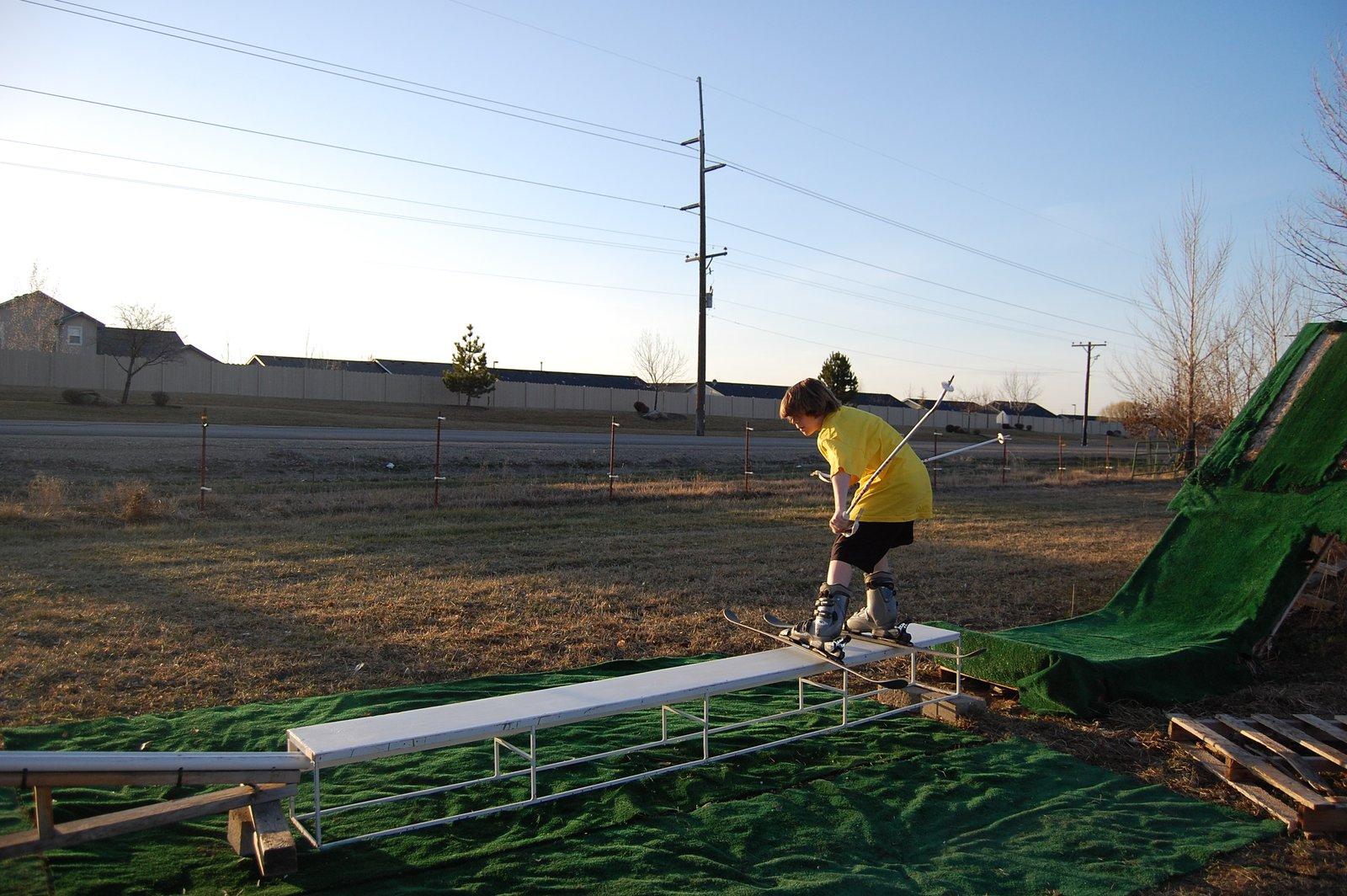 Box to rail on summer jibb