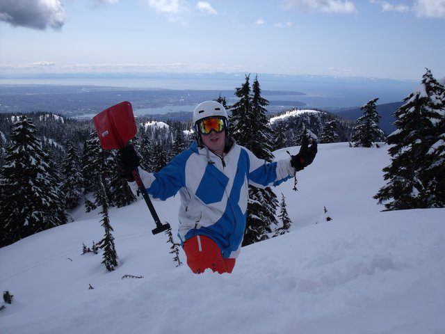 Back country mount seymour