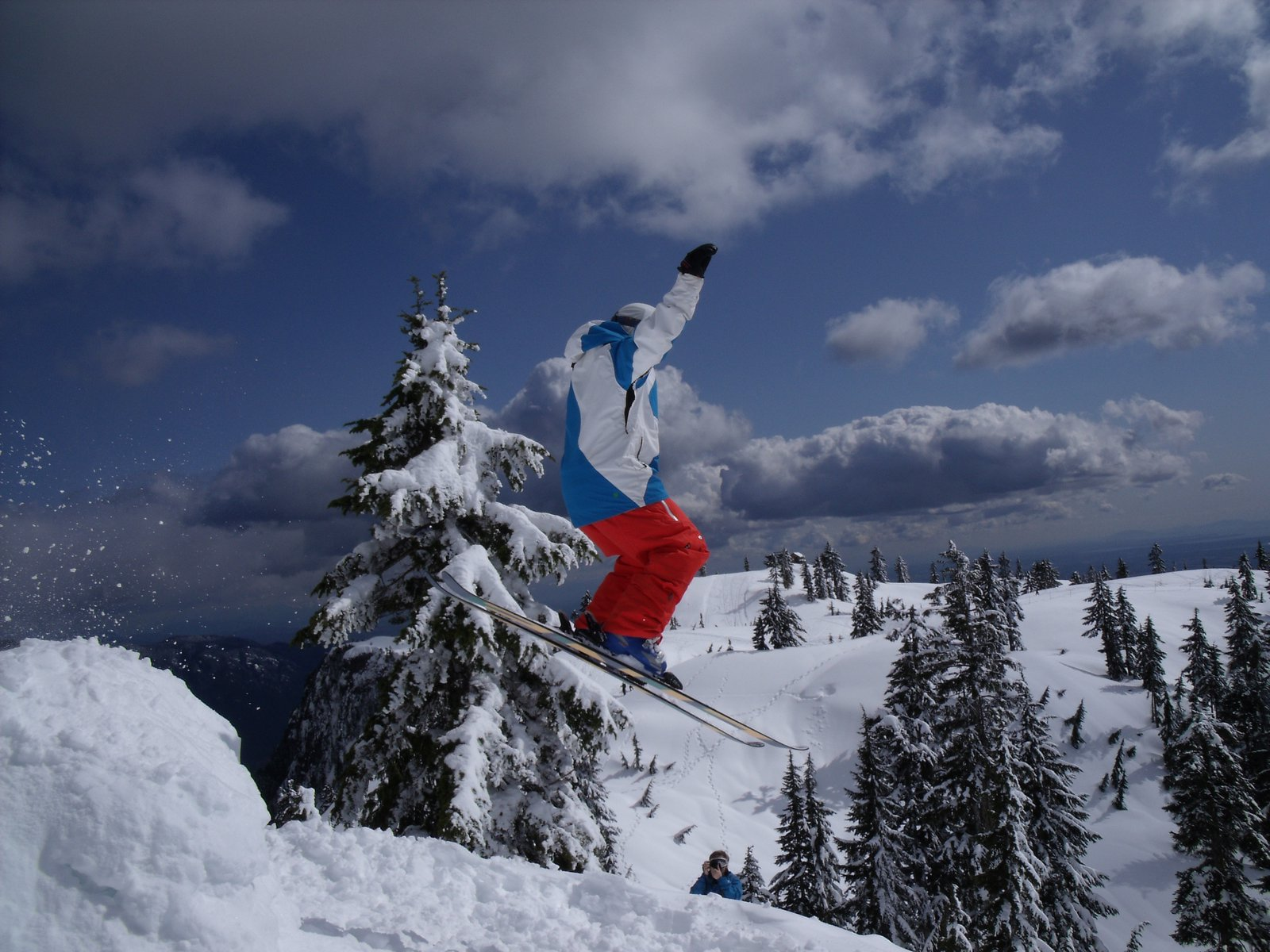 Seymour back country jump