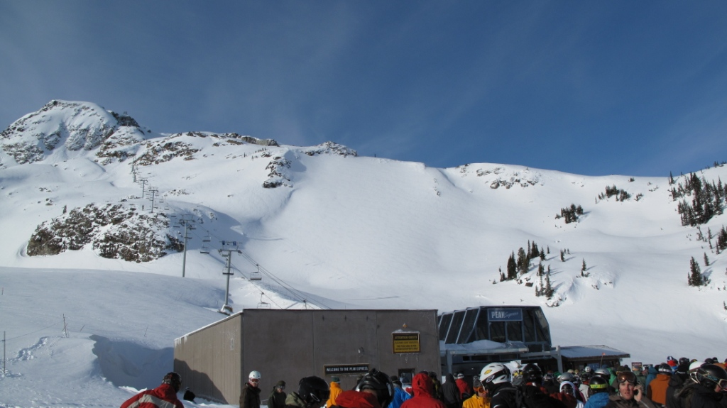 Peak Chair Line
