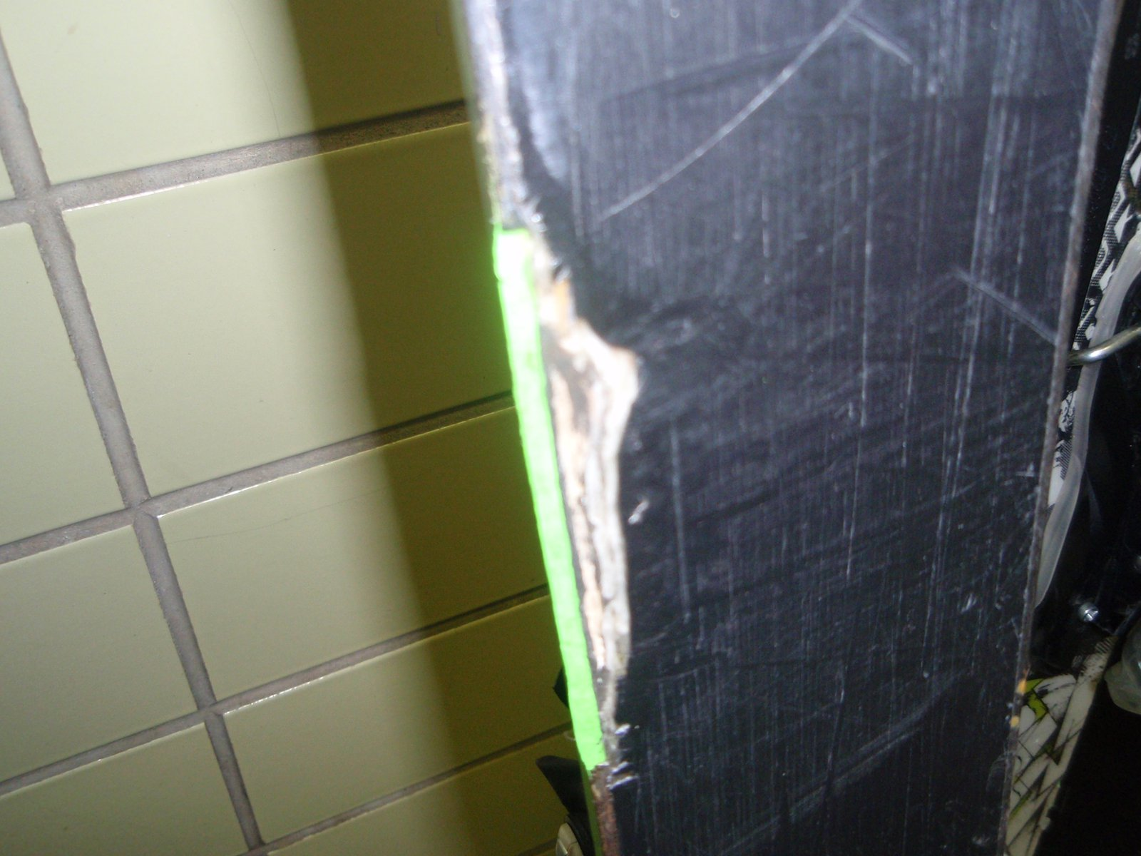 Ski Damage 1