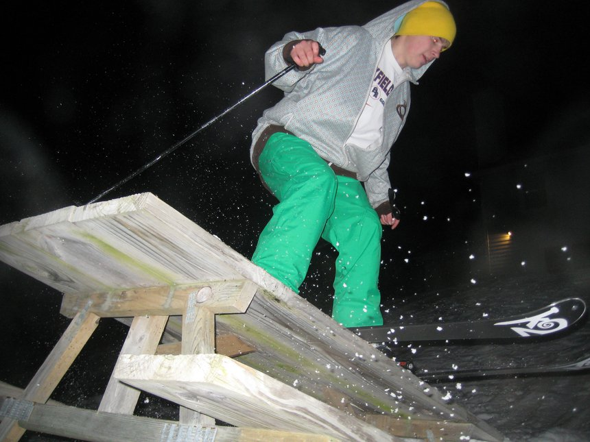 Backyard jib