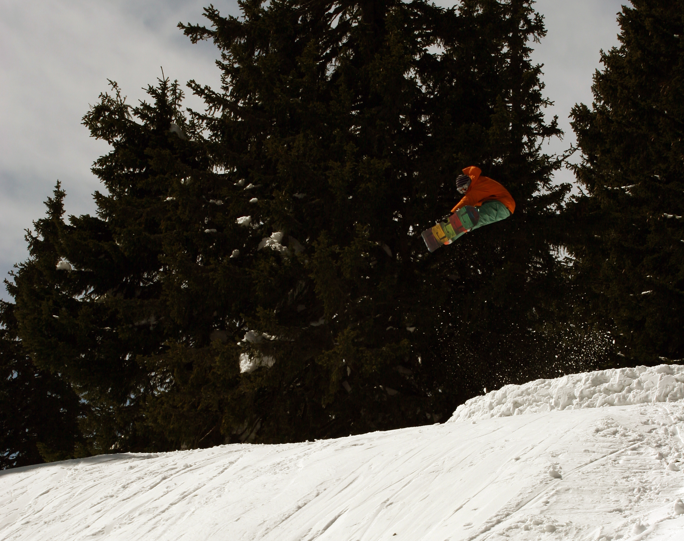 Snowboard stall