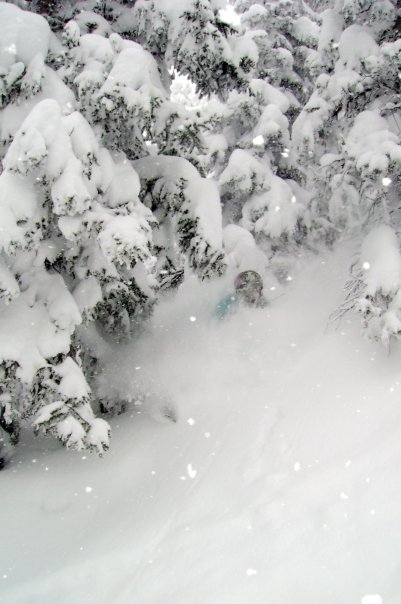 Deep day in steamboat
