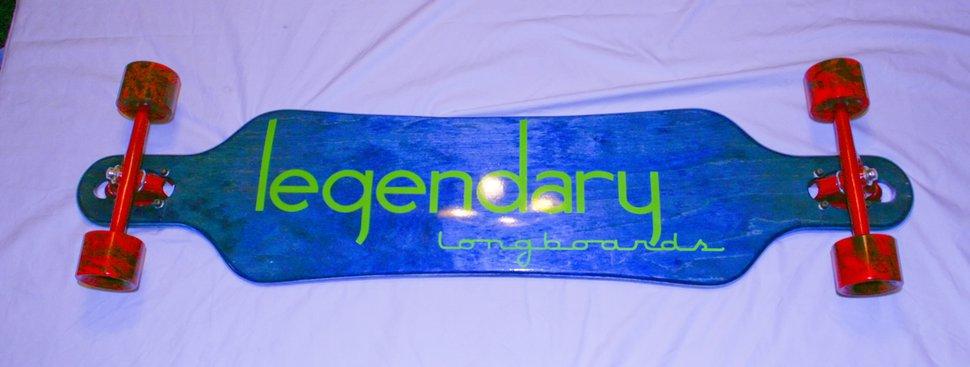 Dank legendary longboard
