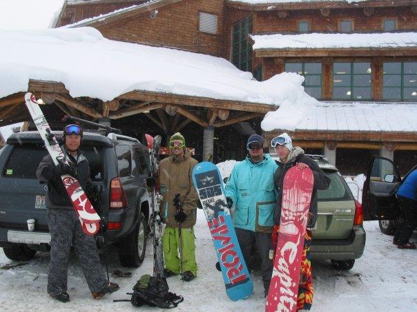 Mt Baker Parking Lot