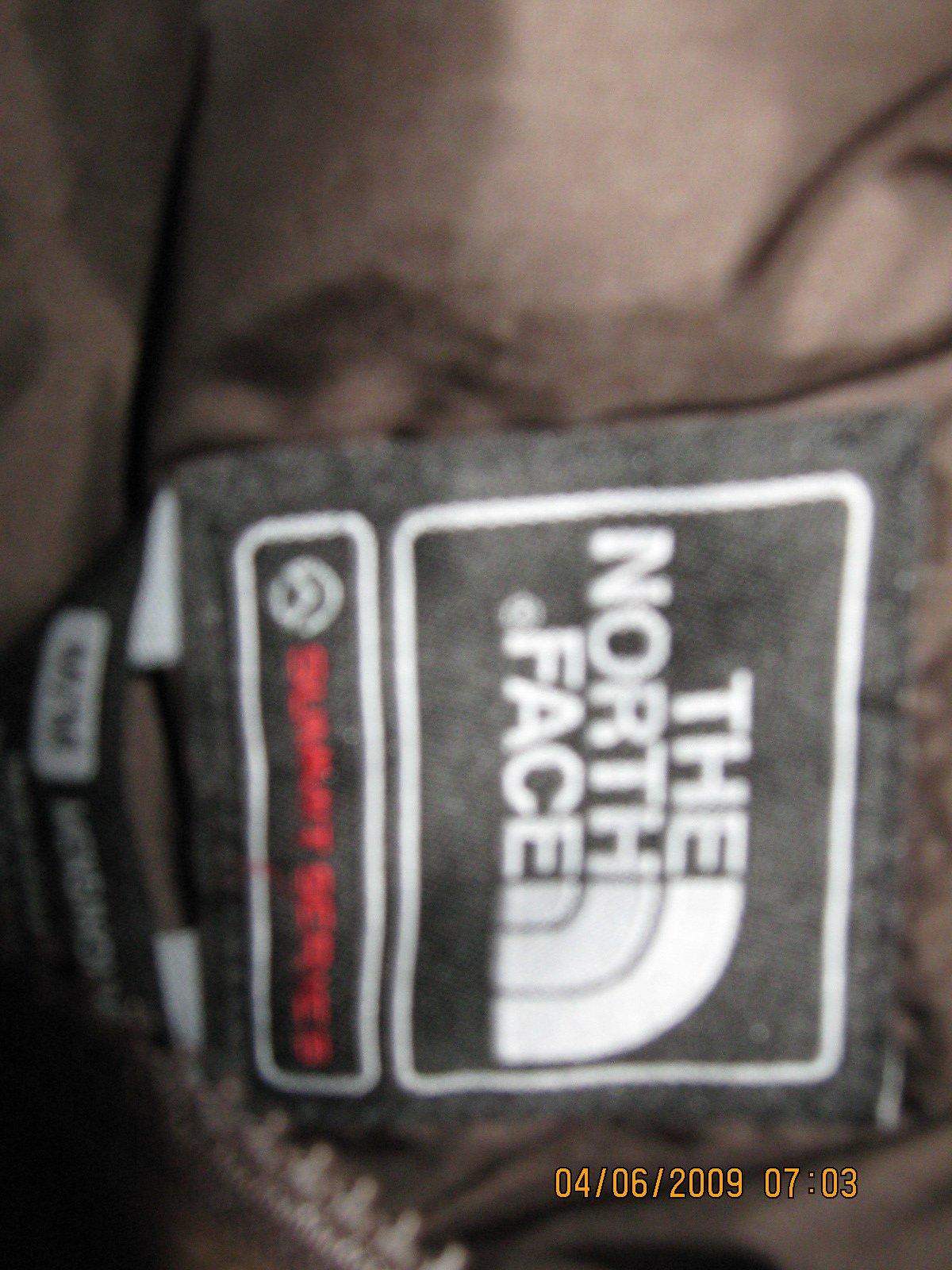 Inside of Jacket