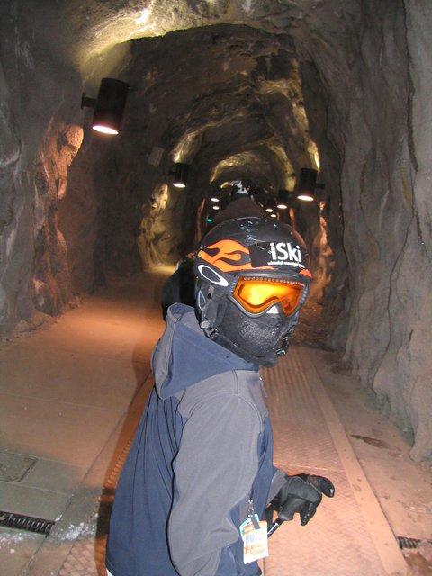 Tunnel in snowbird