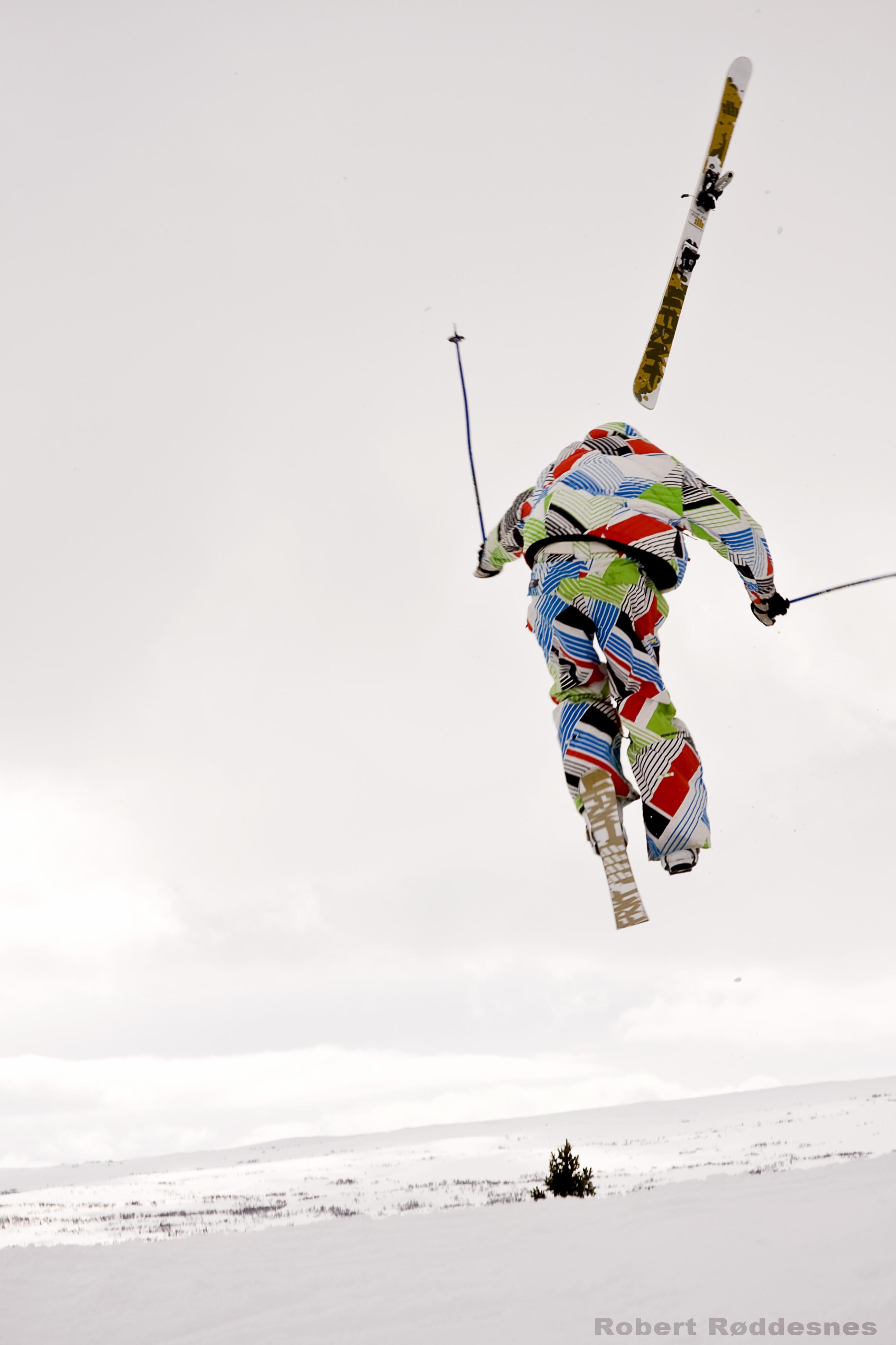 """That air stole my ski!"""