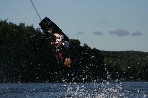 Robbie Wakeboarding