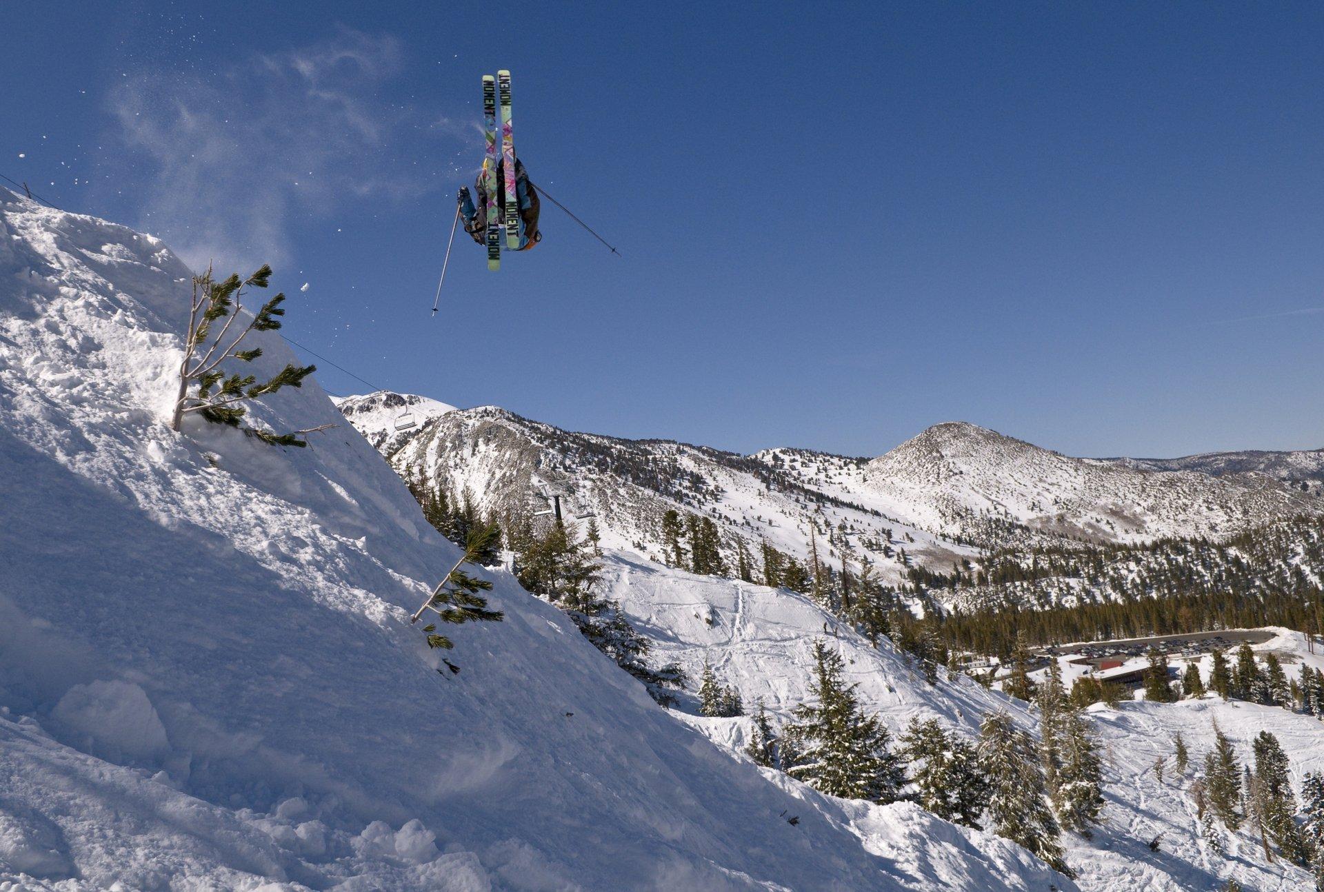 Misty flip of a spin in tahoe