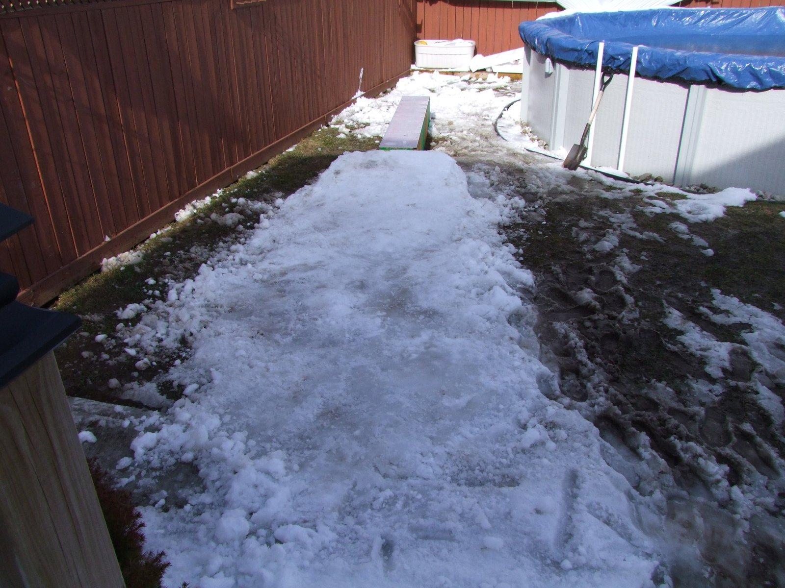 Backyard setup ONTARIO YO - 1 of 7