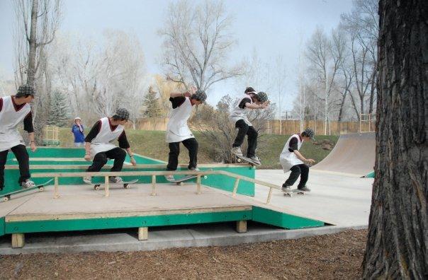 Early summer skateboard sequnce