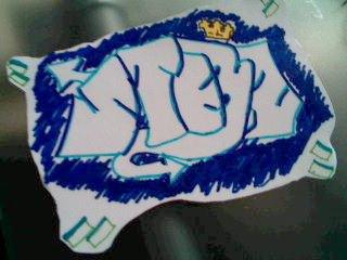 STEEZ sticker