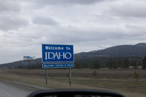 Finally in Idaho
