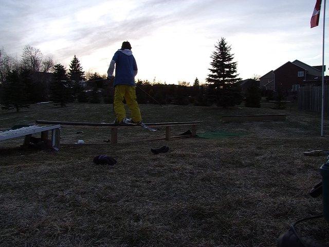 Backyard skiing - 5 of 5