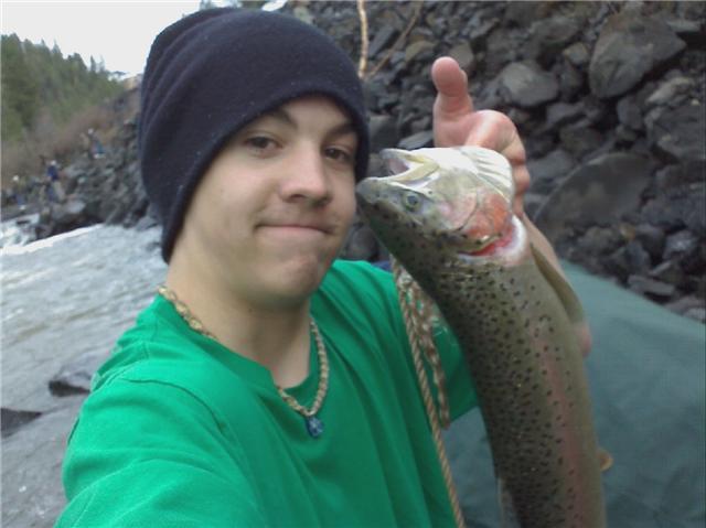 Steelhead fishin