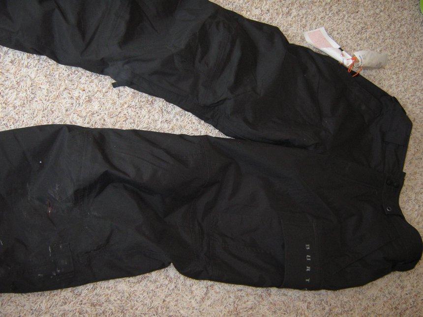 FS Black Burton Pants *Full Veiw*