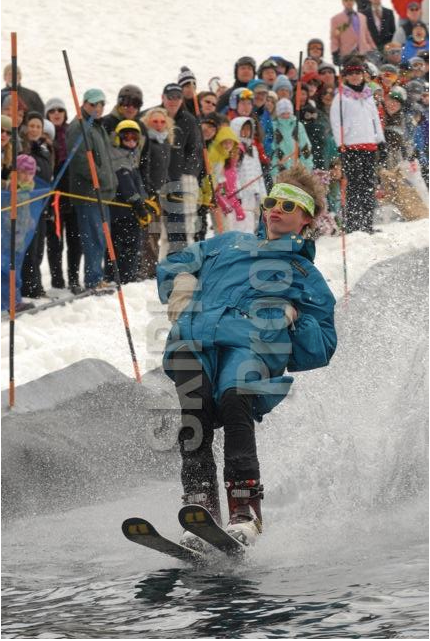 Tanner afterbanging the pond skim