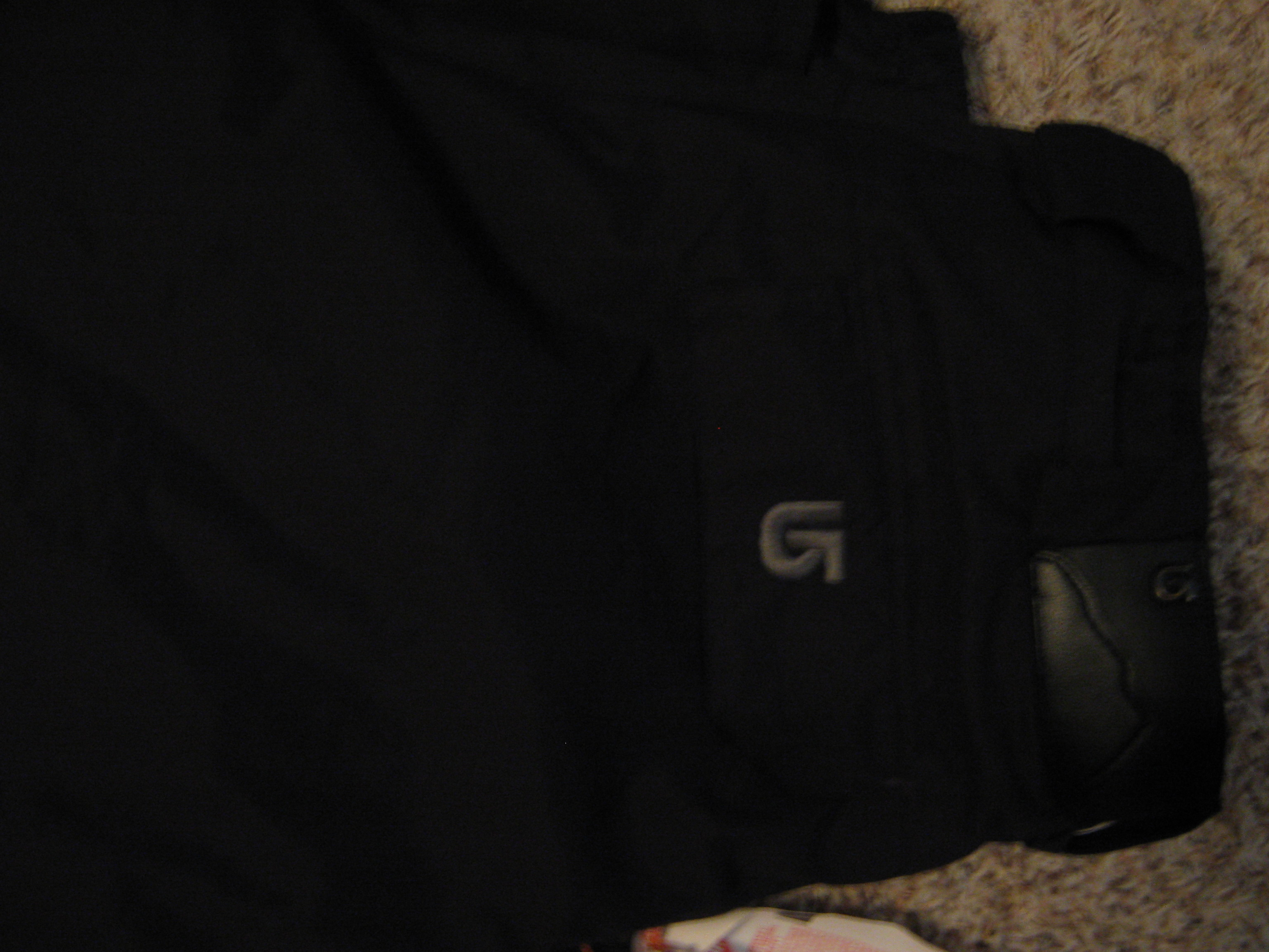 Black Burton Pants *Without Flash*