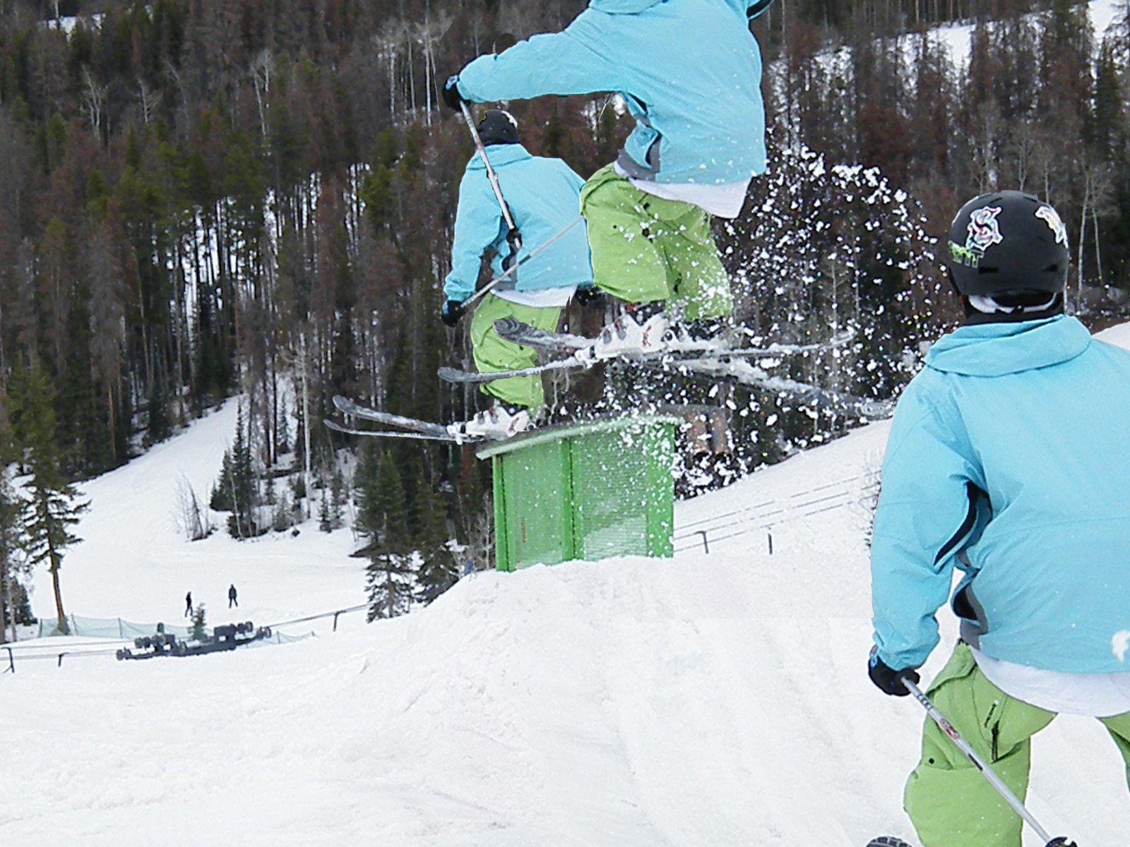 High rail sequence