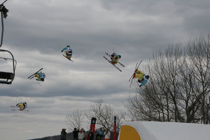 T wall at dumont cup