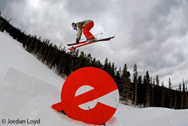 Two Hands On The Ski and The E
