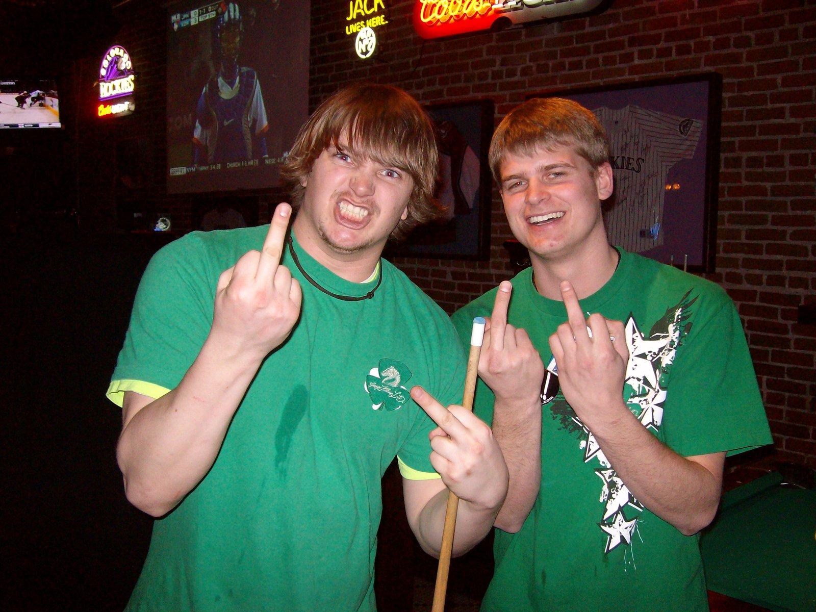 St.Patty's Drunkeness
