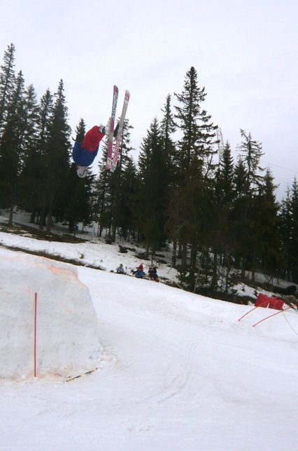 Gaper Day BACKFLIP!!