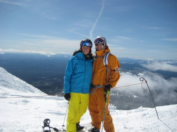 Kellie and at at the summit