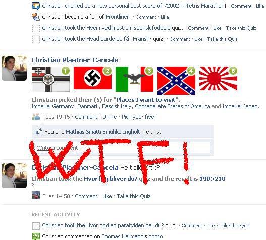 Facebook wierd