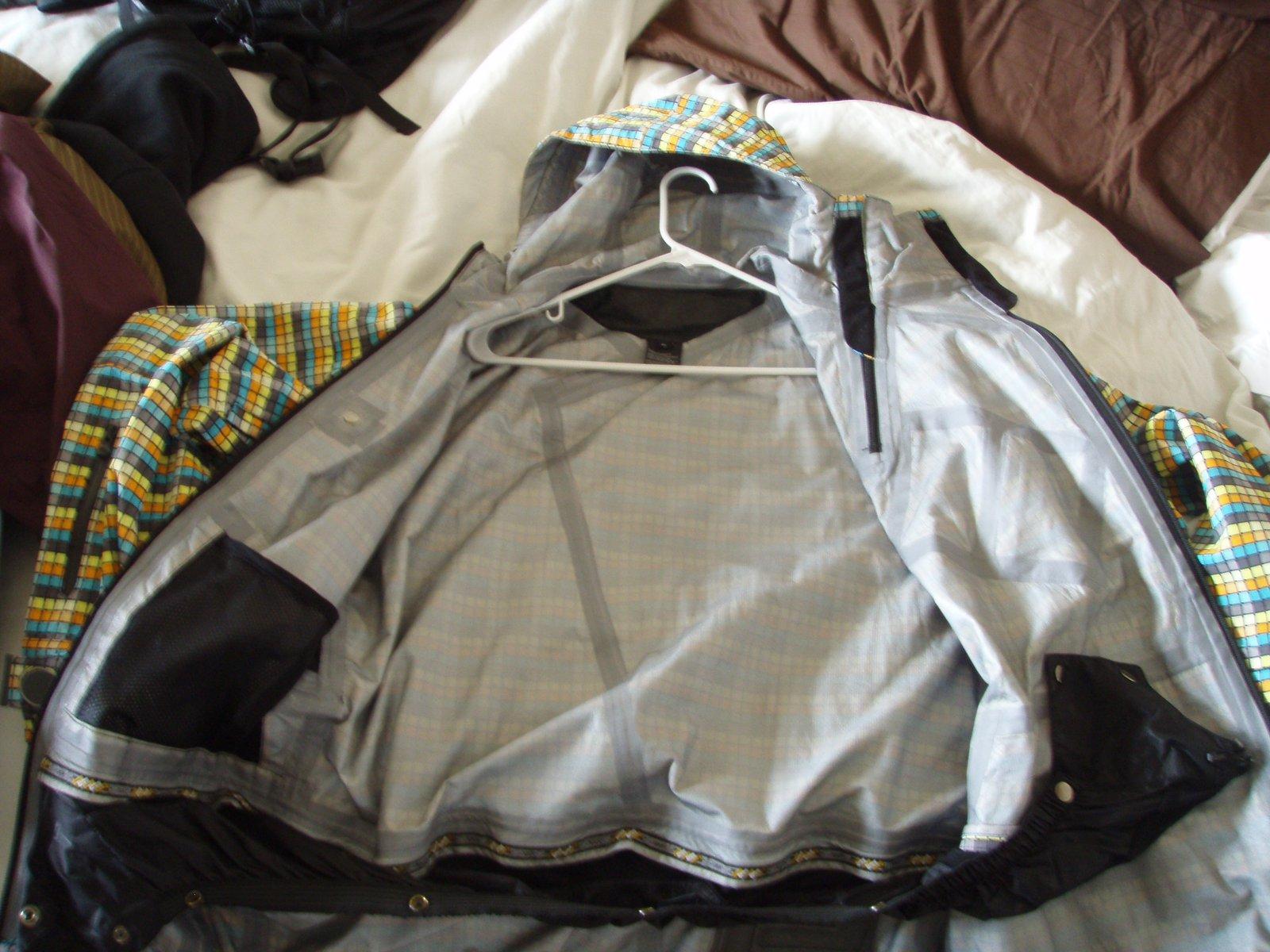 SMS Shelta Jacket Inside