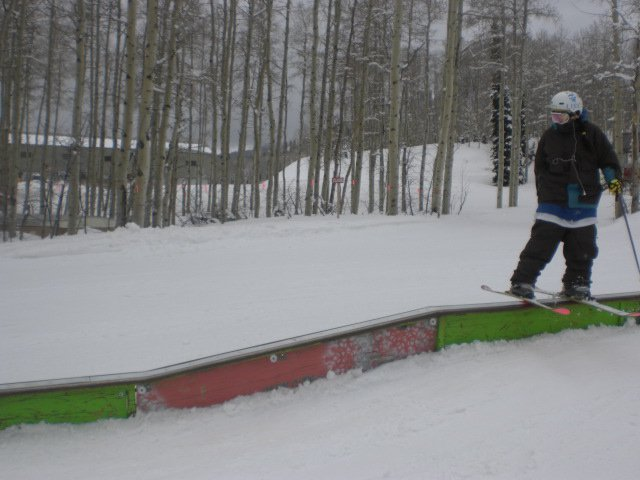 I did a rail once... it was amazing