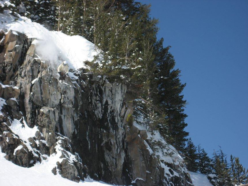 Kodiak cliff